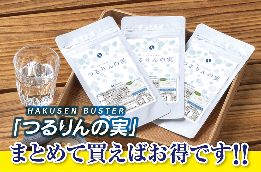 つるりんの実(HAKUSEN BUSTER)まとめて買えばお得です!!